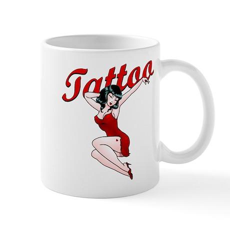 Pin-Up Girls Tattoo Mug