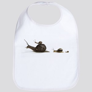 Snail Family (Front only) Bib