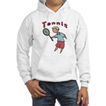Kid's Tennis Hooded Sweatshirt