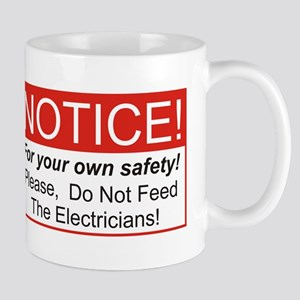 Notice / Electrician Mug