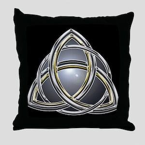 Trinity Knot 2 Throw Pillow
