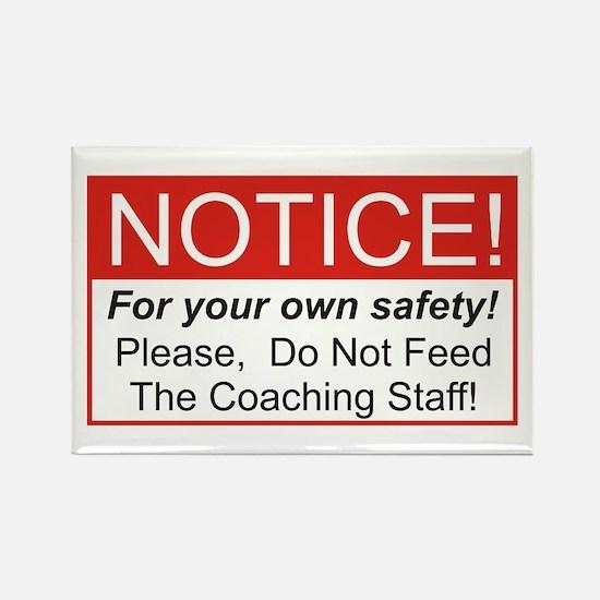 Notice / Coach Rectangle Magnet