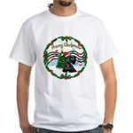XmasMusic1MC/Scottie White T-Shirt