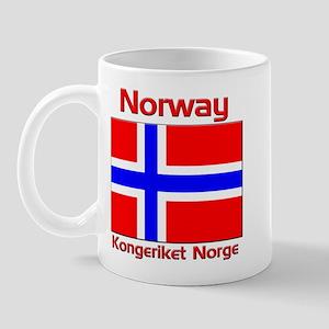 Norway Kongeriket Norge Mug