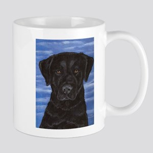 Blue Sky Black Lab Mug