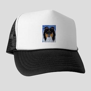 Blue Sky Tri Sheltie Trucker Hat