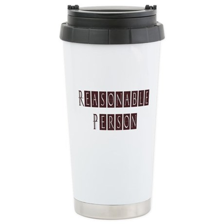 Reasonable Person Stainless Steel Travel Mug