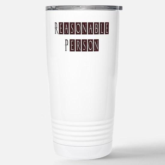 Reasonable Person Stainless Steel Travel Mug