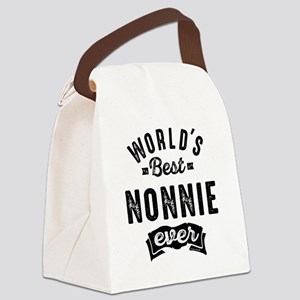 BEST NONNIE Canvas Lunch Bag
