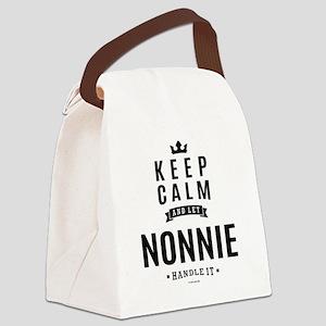 KEEP CALM - NONNIE Canvas Lunch Bag
