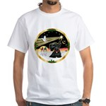 XmasDove/ Scottie White T-Shirt