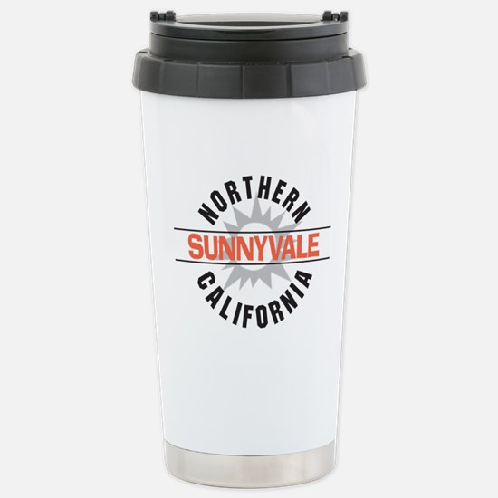 Sunnyvale California Stainless Steel Travel Mug