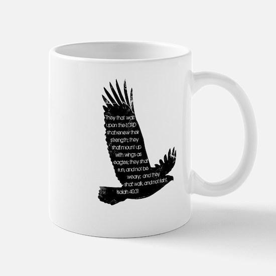 Isaiah 40:31 Eagle Mug