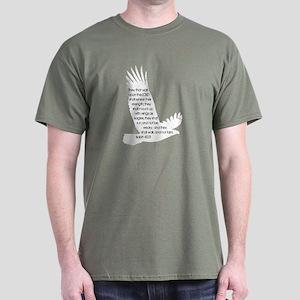 Isaiah 40:31 Eagle Dark T-Shirt