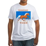 Palomino Tennessee Walker Fitted T-Shirt