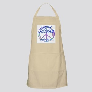 Cindy Sheehan Speaks For Me BBQ Apron