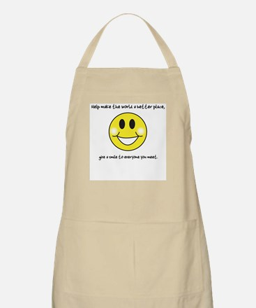 Give a Smile... BBQ Apron