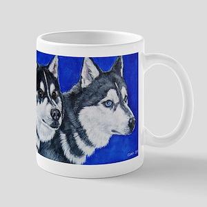 Sled Dog Duo Mug