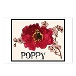 Poppy Logo Postcards (Package of 8)