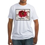 Poppy Logo Fitted T-Shirt
