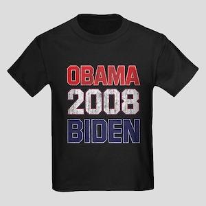 Obama-Biden (2008 vintage) Kids Dark T-Shirt