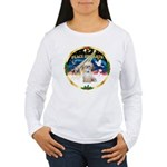 XmasSunrise/Shih Tzu Women's Long Sleeve T-Shirt