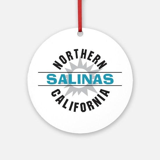 Salinas California Ornament (Round)
