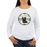 XmasMusic1MC/Skye Terrier Women's Long Sleeve T-Sh