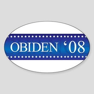 Obiden Bumper Oval Sticker