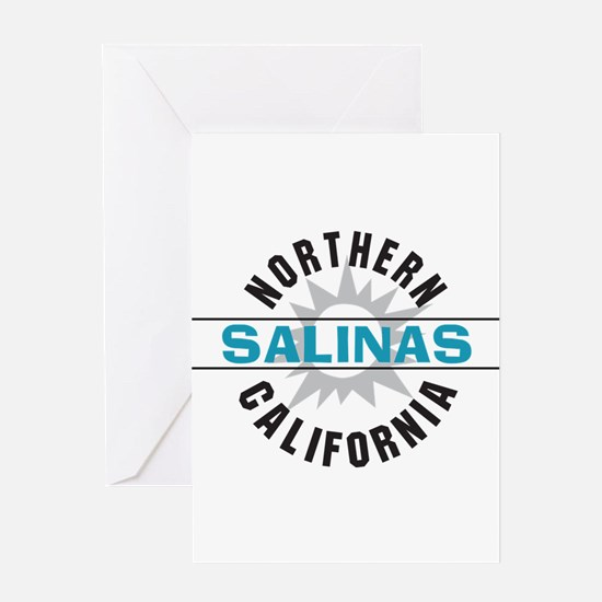 Salinas California Greeting Card