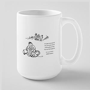 Tao of Statistics Confounds Large Mug
