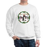 XmasMusic1MC/Border Collie Sweatshirt