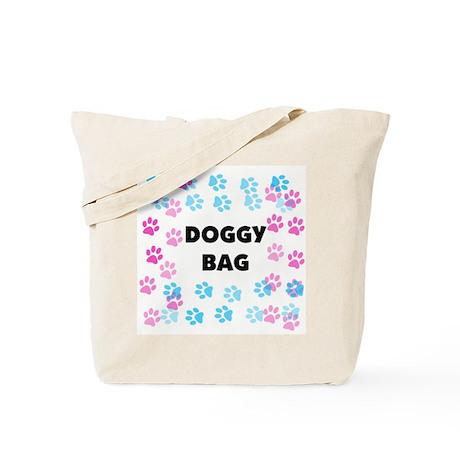 """""""Paw Prints Doggy Bag"""" - Tote Bag"""
