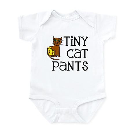 Tiny Cat Pants Infant Creeper