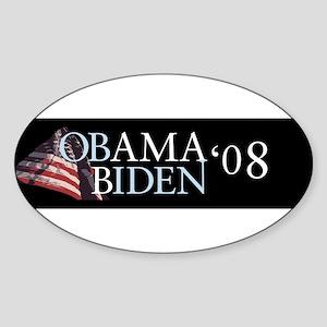 Obama Biden Oval Sticker