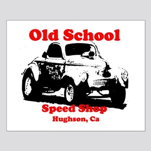 AFTM Old School Speed Shop Re Small Poster