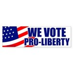 We Vote Pro-Liberty