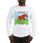 Quarter Horse Action Long Sleeve T-Shirt