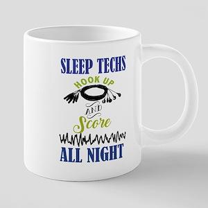 Sleep Techs Hook Up And Stainless Steel Mugs
