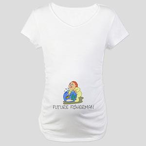 Future Fisherman Maternity T-Shirt