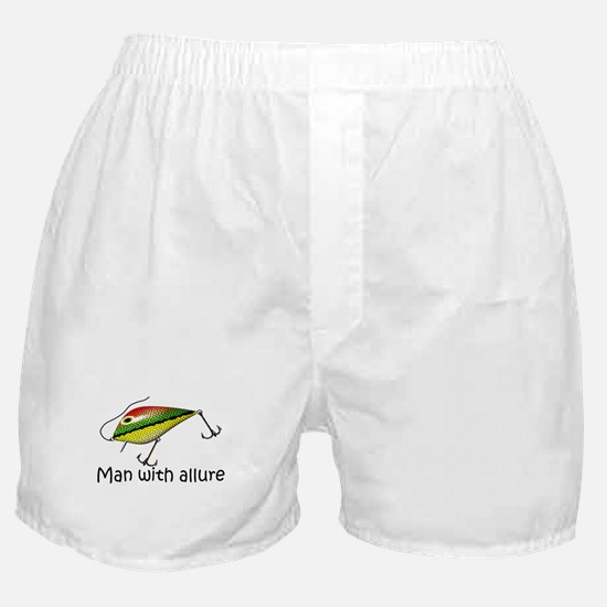 Man With Allure Boxer Shorts