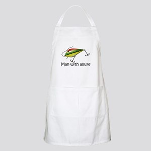 Man With Allure BBQ Apron