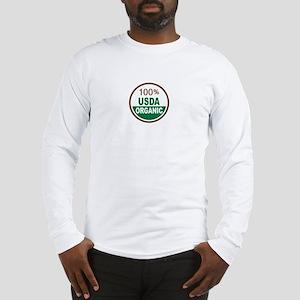100% USDA Organic... Long Sleeve T-Shirt
