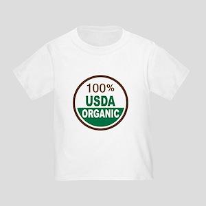 100% USDA Organic... Toddler T-Shirt