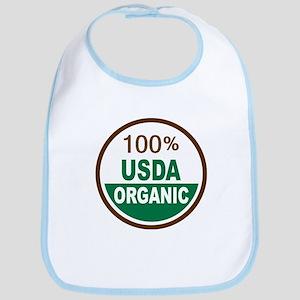 100% USDA Organic... Bib