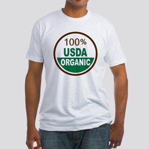 100% USDA Organic... Fitted T-Shirt