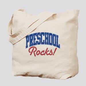 PRESCHOOL ROCKS! Tote Bag