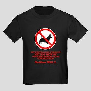 Australian Terrier Kids Dark T-Shirt