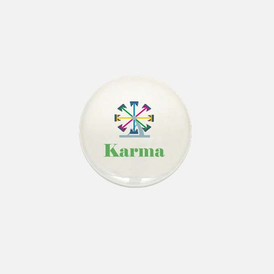 Karma Mini Button