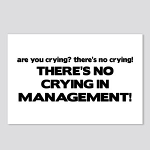There's No Crying in Management Postcards (Package